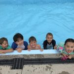 Knights Stream School Swimming students in pool