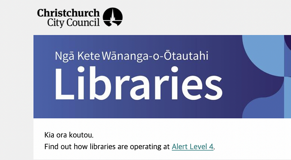 Visit the library from home